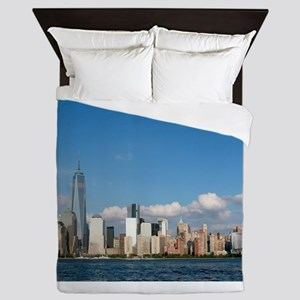 New! New York City USA - Pro Photo Queen Duvet