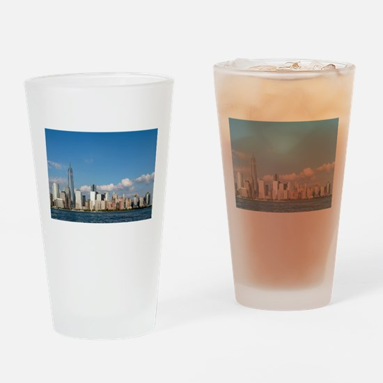 New! New York City USA - Pro Photo Drinking Glass