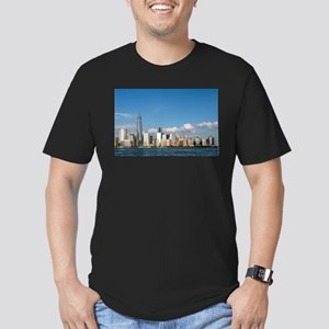 New! New York City USA Men's Fitted T-Shirt (dark)