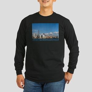 New! New York City USA - Long Sleeve Dark T-Shirt