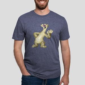 Ice Age 8-Bit Sid 2 Light Mens Tri-blend T-Shirt
