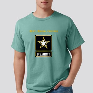 Duty Honor Country Army Mens Comfort Colors Shirt