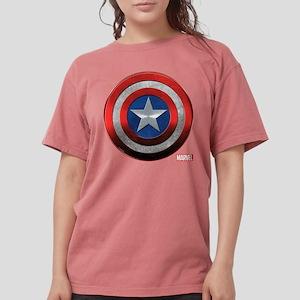 Captain America Icon Womens Comfort Colors Shirt