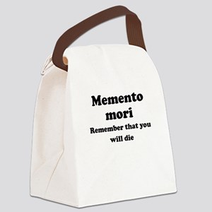 Memento mori Canvas Lunch Bag