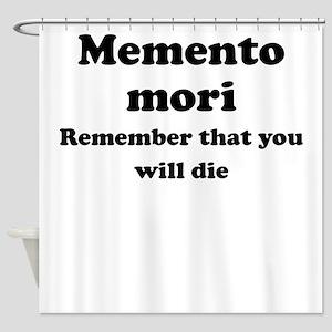 Memento mori Shower Curtain