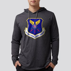 USAF Global Strike Command Badge Mens Hooded Shirt