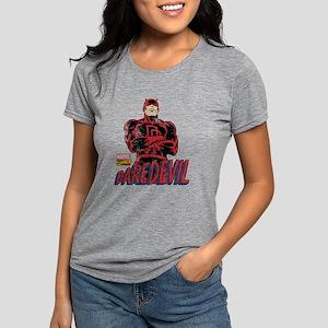 Vintage Daredevil Logo Womens Tri-blend T-Shirt