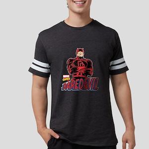 Vintage Daredevil Logo Mens Football Shirt