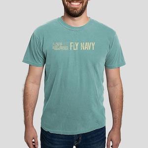 Black Flag: Fly Navy Mens Comfort Colors Shirt