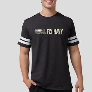 Black Flag: Fly Navy Mens Football Shirt