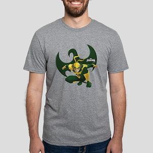 Iron Fist Symbol Mens Tri-blend T-Shirt
