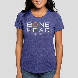 Bones Bone Head Dark Womens Tri-blend T-Shirt