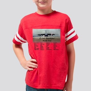 C141WorldTour Youth Football Shirt