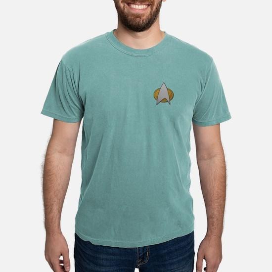 STARTREK TNG METAL Mens Comfort Colors Shirt
