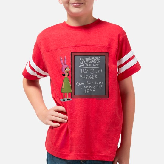 Bob's Burgers Burger of the D Youth Football Shirt