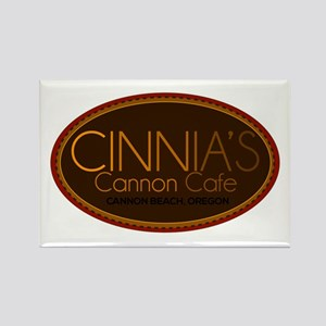 Cinnia's Cannon Cafe Rectangle Magnet