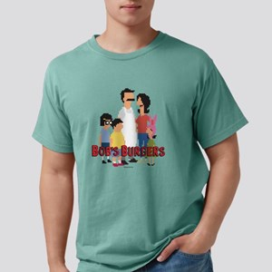 Bob's Burgers 8Bit Mens Comfort Colors Shirt