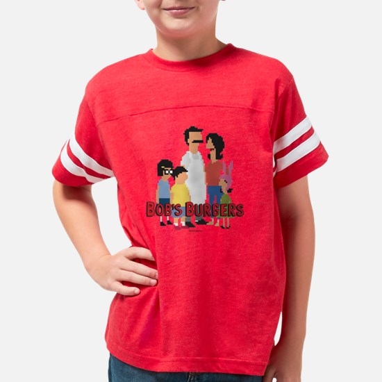Bob's Burgers 8Bit Youth Football Shirt