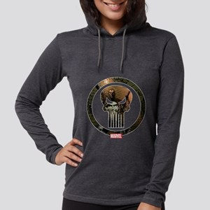 Punisher_Icon Womens Hooded Shirt