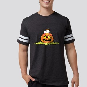 Day of the Dead Snoopy Pumpkin Mens Football Shirt