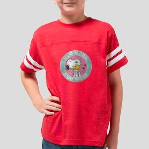 Snoopy - Hug More Youth Football Shirt