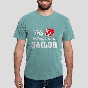 HeartBelongsSailor1B Mens Comfort Colors Shirt
