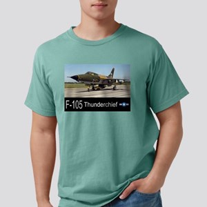 F-105Thunderdhief Mens Comfort Colors Shirt
