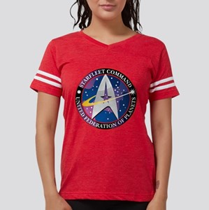 Starfleet-Command Womens Football Shirt