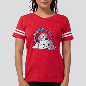 MLP Retro Pony Love Dark Womens Football Shirt