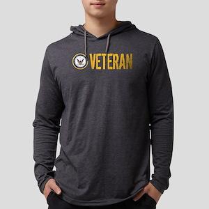U.S. Navy: Veteran Mens Hooded Shirt