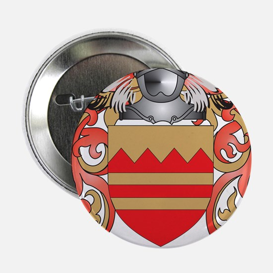 """McGarry Coat of Arms - Family Crest 2.25"""" Button"""
