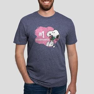 NumberOneGranddaughter Mens Tri-blend T-Shirt