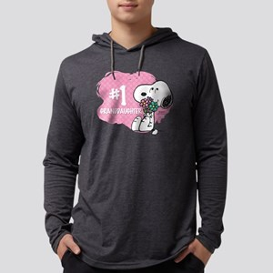 NumberOneGranddaughter Mens Hooded Shirt