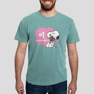NumberOneGranddaughter Mens Comfort Colors Shirt