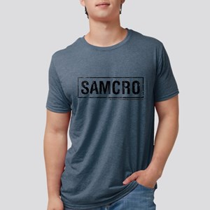 SAMCRO Light SOA Sons of An Mens Tri-blend T-Shirt
