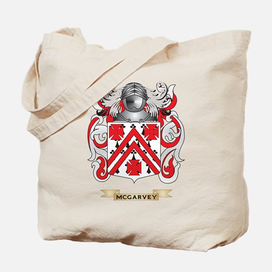 McGarvey Coat of Arms - Family Crest Tote Bag