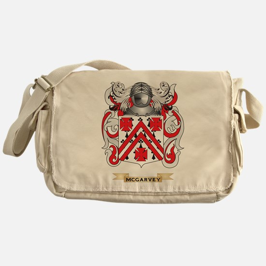 McGarvey Coat of Arms - Family Crest Messenger Bag