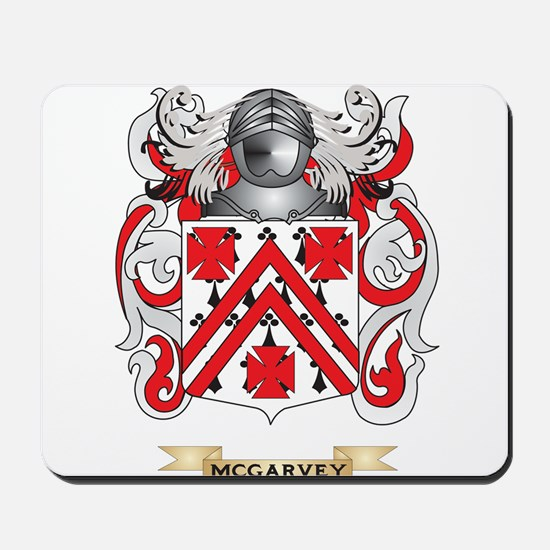 McGarvey Coat of Arms - Family Crest Mousepad