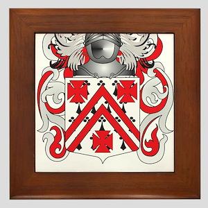McGarvey Coat of Arms - Family Crest Framed Tile