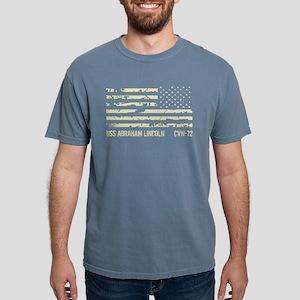 USS Abraham Lincoln Mens Comfort Colors Shirt