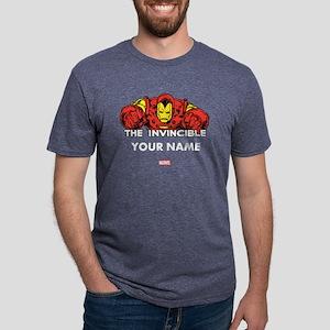 The Invincible Iron Man Per Mens Tri-blend T-Shirt