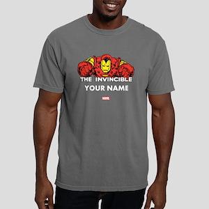 The Invincible Iron Man  Mens Comfort Colors Shirt