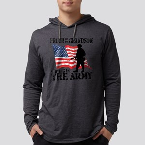 Army_Grandson Mens Hooded Shirt