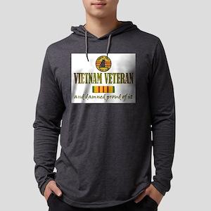 vietnam vet USN Mens Hooded Shirt