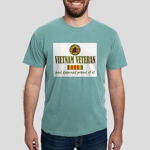 vietnam vet USN Mens Comfort Colors Shirt