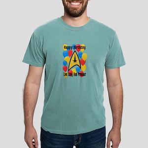 Happy Birthday Live Long Mens Comfort Colors Shirt