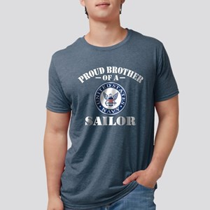 Proud Brother Of A US Navy  Mens Tri-blend T-Shirt