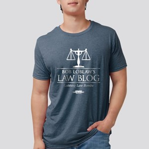 Bob Loblaw's Law Blog Dark Mens Tri-blend T-Shirt