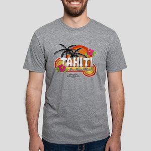 MAOS_GreetingsFromTahiti3-L Mens Tri-blend T-Shirt