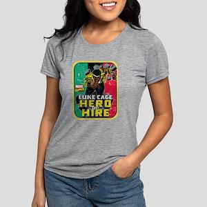 Classic Luke Cage Wall Br Womens Tri-blend T-Shirt